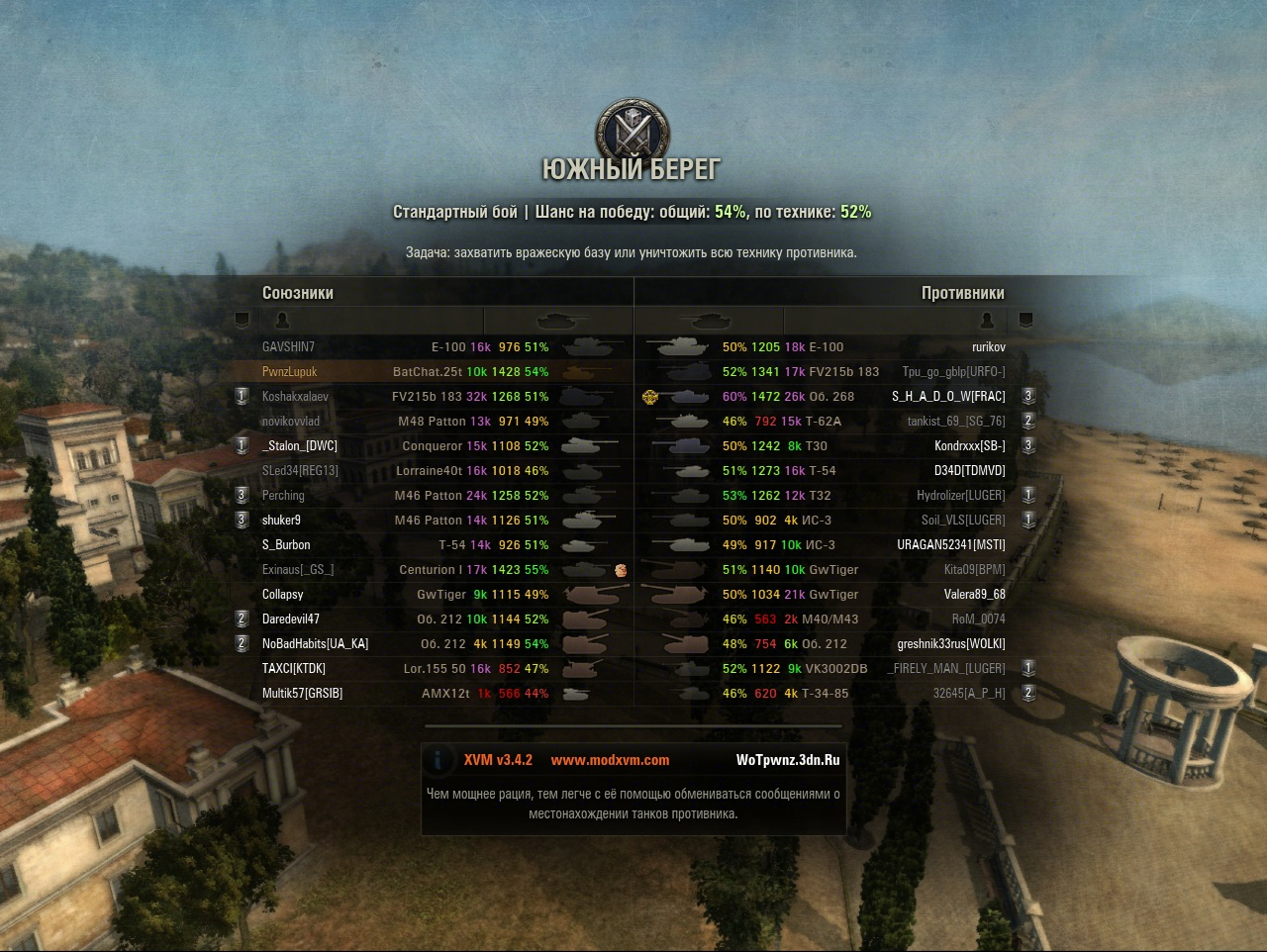 World of tanks финал 2016